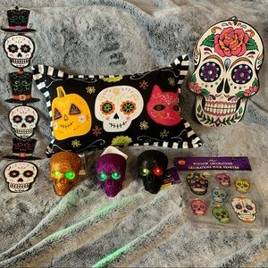 Skull Home Decor Lot perfect for Halloween or fun